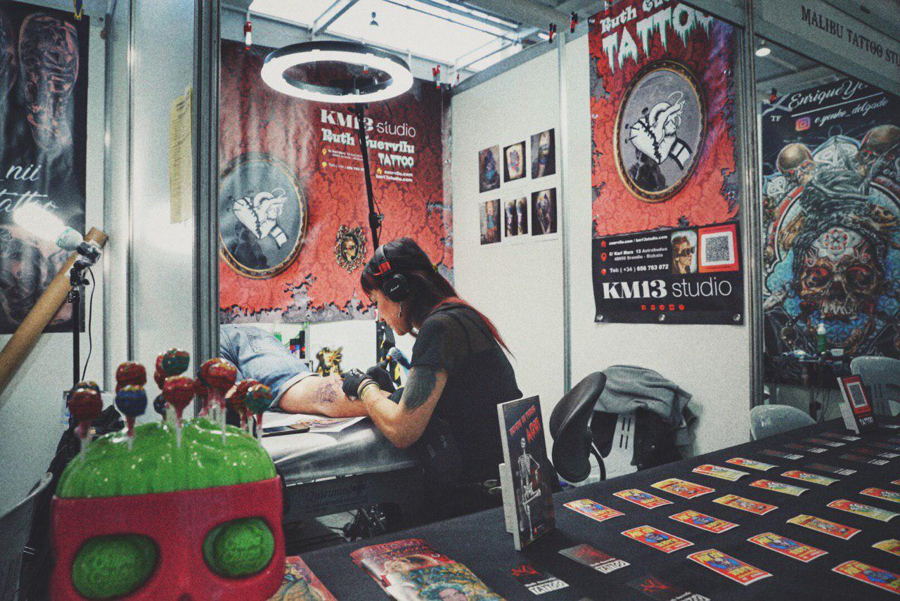 Ruth Cuervilu Tattoo - KM13 Studio, estudio tatuajes erandio, euskadi tattoo convention, spaintattooexpo