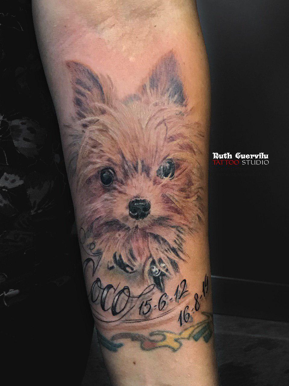 Retrato Coco Tatuaje - Ruth Cuervilu Tattoo - KM13 Studio - Astrabudua Erandio Bilbao