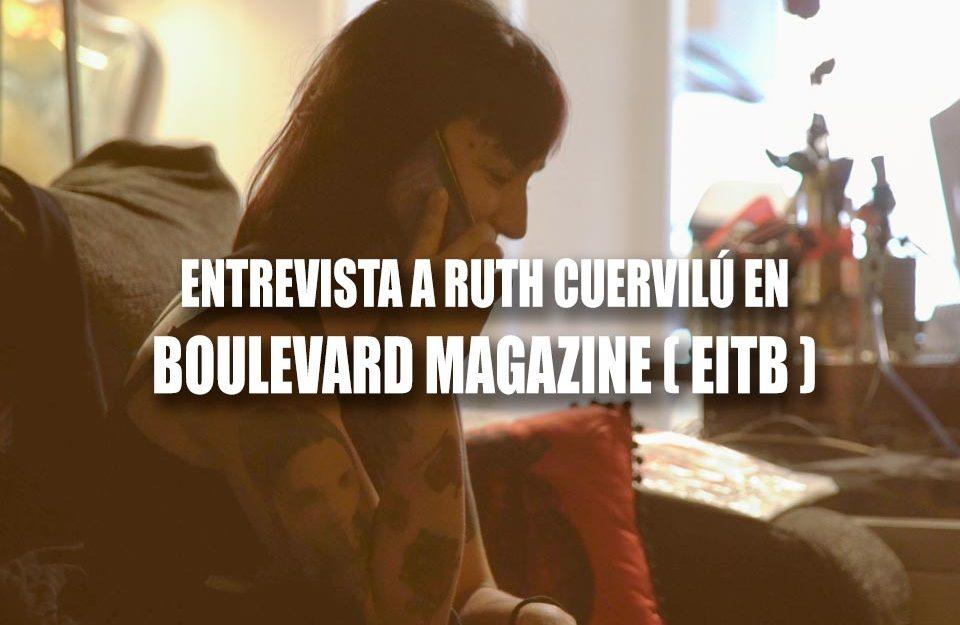 ruth cuervilu en boulevard magazine de radio euskadi